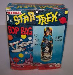 Star Trek Bop Bag   No idea why you'd want to hit Spock. He's perfect.