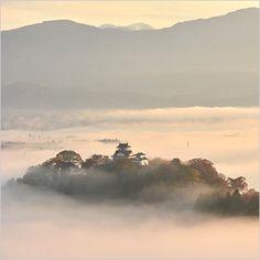 Sea of clouds Echizen Oono-jo Castel