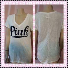 Victoria's Secret PINK V Neck! #victoriassecret #pinknation #pink #fashionmagenet #fashion