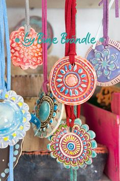 Pottery magical ceramic pendants yourself. More great inspiration and pottery . - Heart - Pottery magical ceramic pendants yourself. More great inspiration and pottery … - Ceramic Pendant, Ceramic Jewelry, Ceramic Clay, Ceramic Beads, Clay Jewelry, Ceramic Pottery, Pottery Art, Clay Projects, Clay Crafts
