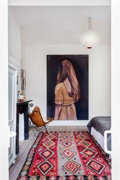 Un intérieur bohème à Amsterdam