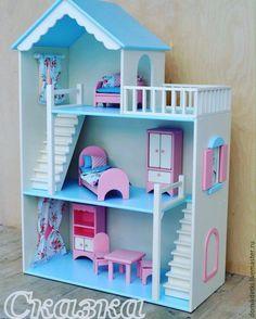 Doll house / Кукольный дом ручной работы. Ярмарка Мастеров - ручная работа. Купить Кукольный домик. Handmade. Кукольный дом, кукольная мебель