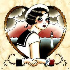 Angelique Sailor's Sweetheart by Angelique Houtkamp