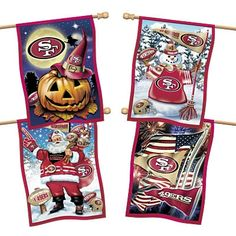 San Francisco 49ers Flag Collection - Willabee & Ward