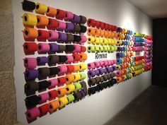 """The Sexiest WC on Earth"" - You could choose what colour toilet paper you wanted to use"