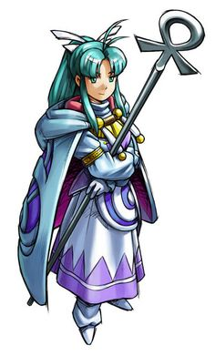 Mia from Golden Sun