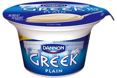 My next alternative to Chobani is Nonfat Dannon Greek Yogurt. It is low cal low carb low sugar and high protein It basically has the same nutritional value as Chobani. The reason I stick to Chobani is because of the thicker texture Nonfat Greek Yogurt, Plain Greek Yogurt, Healthy Fats, Healthy Choices, White Chocolate Raspberry Cake, Canada Food Guide, Lemon Pancakes, Yogurt Cups, Going To The Gym