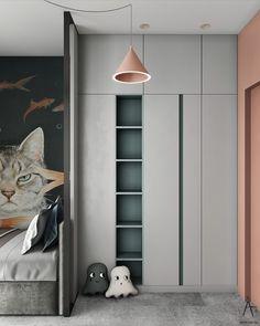 Wardrobe Door Designs, Wardrobe Design Bedroom, Kids Wardrobe, Bedroom Bed Design, Closet Bedroom, Kids Bedroom Designs, Kids Room Design, Interior Design Studio, Home Interior