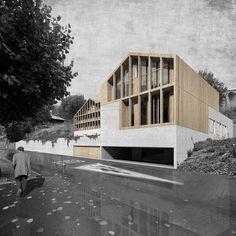 Residència mèdico social by TEd'A Arquitectes (Leysin, Switzerland) #architecture