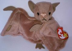 Most Expensive Beanie Babies, Rare Beanie Babies, Ty Bears, Ty Plush, Ty Babies, Baby Bats, Cute Beanies, Collectible Toys, Ty Beanie Boos