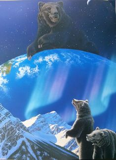 Картинки по запросу HEAVENLY EARTH by Schim Schimmel