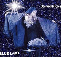 Stevie Nicks Blue Lamp