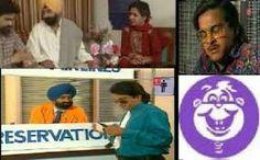 Ulta pulta .comedy show was aired on doordarshan