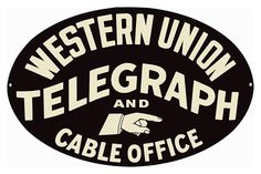 We buy, sell, and appraise Western Union Cable Office Porcelain Signs. We can tell you what your sign is worth in today's market. We are serious buyers and sign experts and dealers. Car Part Furniture, Automotive Furniture, Automotive Decor, Furniture Design, Old Gas Stations, Porcelain Signs, Office Signs, Vintage Metal Signs, Vintage Telephone