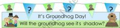 Groundhog day Free Bunting and Banner at Itsy Bitsy Learners! Come on over and see our fab Groundhog Day preschool printables! Festival Celebration, Holiday Festival, Preschool Printables, Preschool Ideas, Teacher Notebook, Groundhog Day, Bunting, Banner, Family Guy