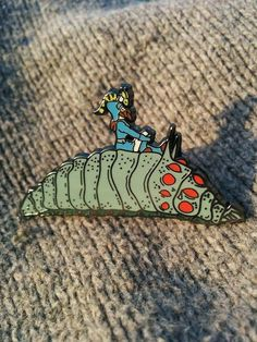 Nausicaä of the Valley of the Wind Pin ($12+) | You'll Want Every Single One of These Miyazaki-Inspired Gifts | POPSUGAR Tech Photo 52