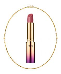 Try: Tarte Drench Lip Splash Lipstick in Top Down, $22