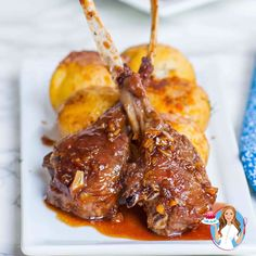 The BEST ever lamb chops recipe! Made with homemade ginger garlic sauce and seared to perfection! Great recipe for a special occasion or holiday! Lamb Recipes, Cooking Recipes, Quail Recipes, Meatloaf Recipes, Best Lamb Chop Recipe, Lamp Chops Recipe, Lamb Cutlets Recipe, Lamb Chops Marinade, Dinner Date Recipes