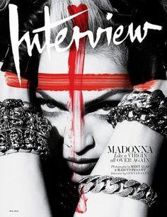 Madonna Interview Magazine Cover