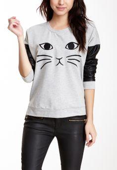 I'd like to make a sweatshirt like this.