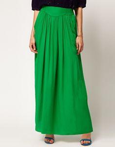 4862rur   Enlarge Whistles Rosa Maxi Skirt