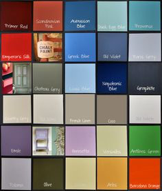 Annie sloan chalk paint sherwin williams paint matches for Chalk paint at sherwin williams