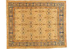"""Antique Indian Carpet, 8'10"""" x 11' on OneKingsLane.com"""