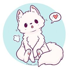 """Polubienia: 4,034, komentarze: 27 – Naomi Lord (@naomi_lord) na Instagramie: """"Drew an arctic fox! :3 (I drew one a while back but I didn't really like it so have any other one!…"""""""