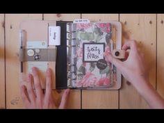 Mein Filofax Personal Setup (Deutsch)- Toller Ideengeber!