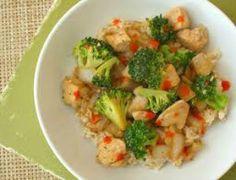 chicken broccoli skillet Ideal Protein
