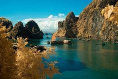 Baie de Halong, Vietnam