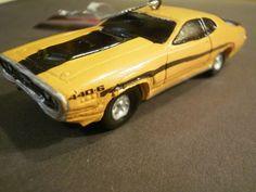 """1971 Plymouth GTX 440 / 6 Kurt S Adler 4"""" Ornament Chrysler Mopar New Muscle Car"""
