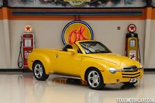 Chevrolet : SSR LS 2004 chevrolet ssr ls only 52 712 miles 5.3 l v 8 leather bed liner cruise control