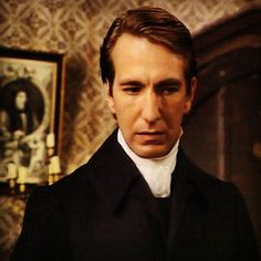 Alan Rickman   Obediah Slope in The Barchester Chronicles (1982) by Caroline Lamb