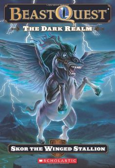 Beast Quest #14: The Dark Realm: Skor The Winged Stallion by Scholastic http://www.amazon.com/dp/0545200326/ref=cm_sw_r_pi_dp_5Bfnwb0MKBFBH