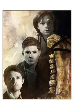 TFW in season 10 of Supernatural. Team Free Will - Season 10 Supernatural Fandom, Castiel, Supernatural Drawings, Supernatural Wallpaper, Dean Winchester, Winchester Brothers, Jensen Ackles, Familia Winchester, Demon Dean