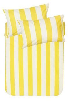 "This printed duvet cover set is made from a soft 132 thread count polycotton and features cabana stripes. This duvet cover will add a pop of colour to your room set. Single and three quarter include 1 standard pillowcase double, queen, king and super king include 2 standard pillowcases.<div class=""pdpDescContent""><BR /><BR /><b class=""pdpDesc"">Fabric Content:</b><BR />45% Cotton 55% Polyester<BR /><BR /><b class=""pdpDesc"">Wash Care:</b><BR>Lukewarm machine wash</div>"