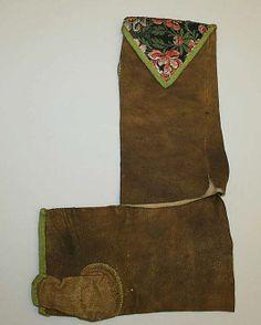 Mitts  Date: 18th century Culture: European Medium: leather