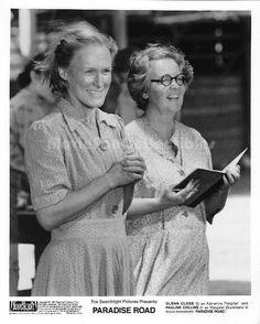 Paradise Road original movie still photo Pauline Collins Glenn Close
