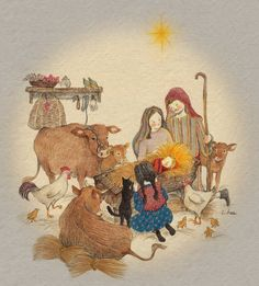 Find images and videos about girl, cat and wallpaper on We Heart It - the app to get lost in what you love. Winter Illustration, Christmas Illustration, Cute Illustration, Noel Christmas, Korean Artist, Cat Art, Cute Drawings, Watercolor Art, Folk Art