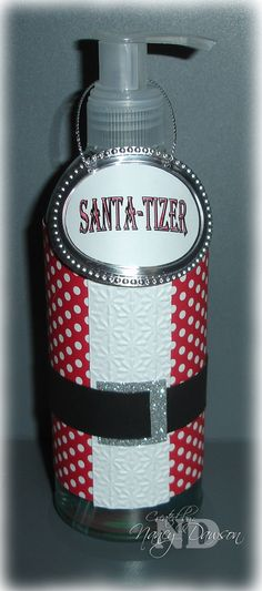 Paper Dreams & Creative Wishes: Santa-tizer