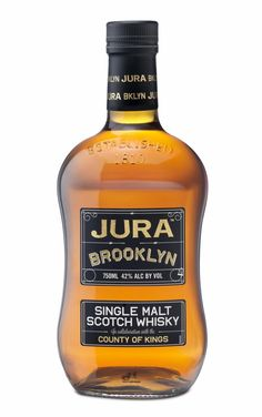 Jura Brooklyn Scotch is now hitting local liquor stores and bars.