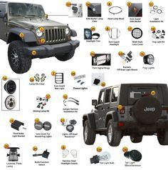 jeep wrangler front end diagram just empty every pocket jeep rh pinterest com jeep wj front end diagram jeep yj front end diagram
