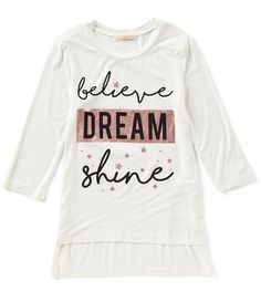 Shop for Copper Key Big Girls 7-16 Believe Screenprint Tee at Dillards.com. Visit Dillards.com to find clothing, accessories, shoes, cosmetics & more. The Style of Your Life.