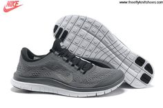 official photos 77f03 0759b Cheap Discount Cool Grey Metallic Silver Anthracite White Nike Free 3.0 V5  Men s Running Shoes For
