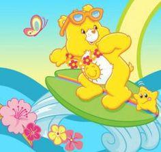 Funshine Bear Catchin' a wave