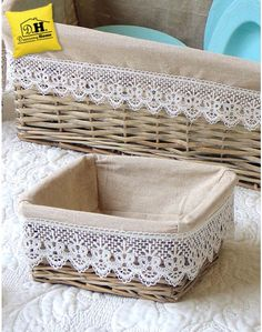 Dressing Home – Home Trends 2020 Basket Crafts, Jute Crafts, Diy Home Crafts, Bed Cover Design, Cardboard Box Crafts, Mug Rug Patterns, House Plants Decor, Diy Art Projects, Upcycled Home Decor