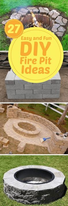 fire pit   wall to block where to typical wind comes thru