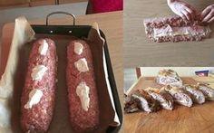 Recept na fantastickou plněnou roládu z mletého masíčka: Bez vajec, soli, strouhanky a drží perfektně!