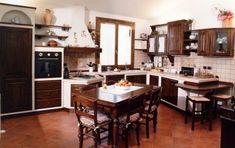 97 best Cucina in muratura images on Pinterest | Kitchens, Brickwork ...